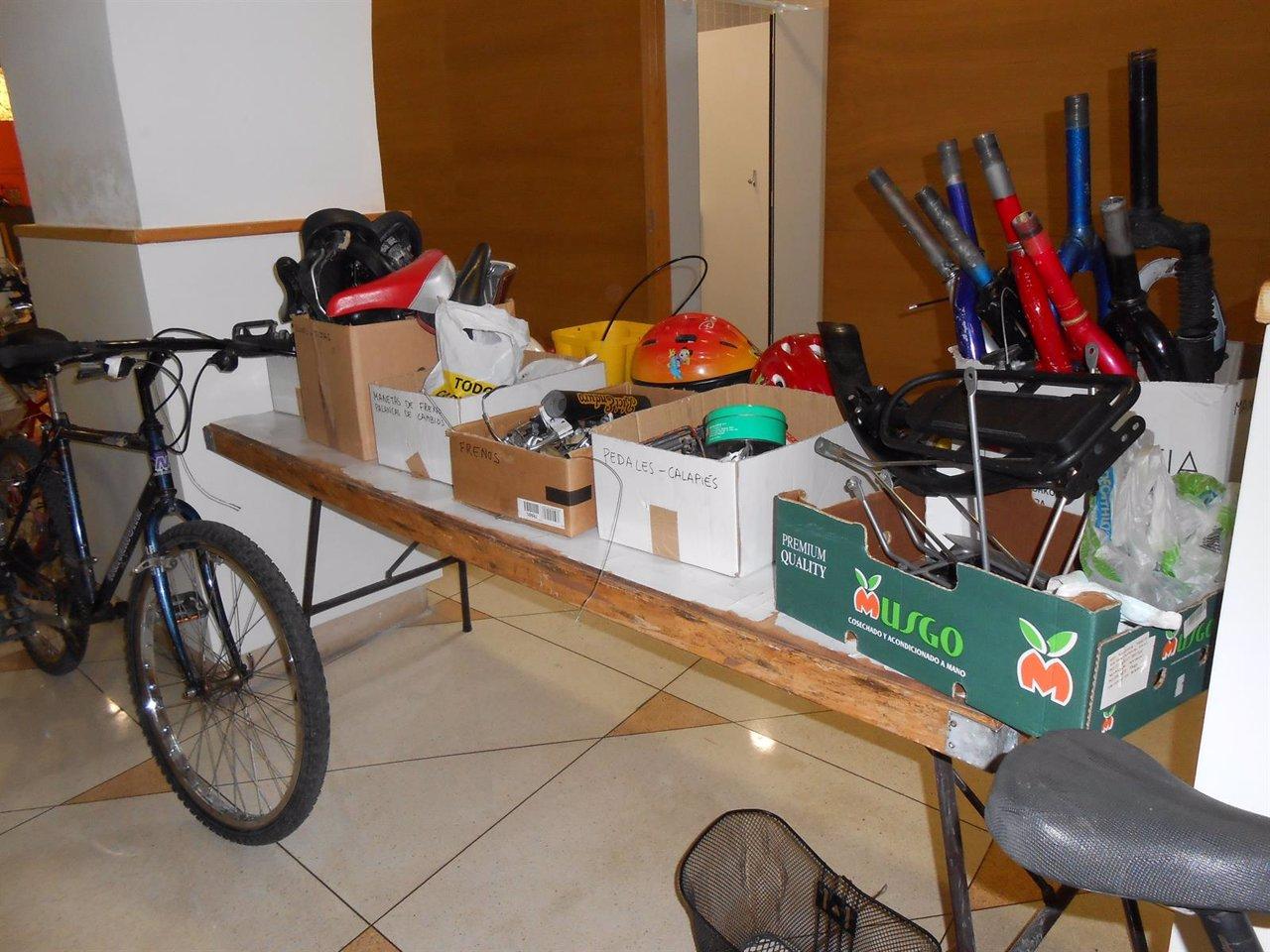Mercadillo de bicicletas en el Museo de Educación Ambiental