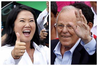 Fujimori y Kuczynski se enfrentarán en una segunda vuelta