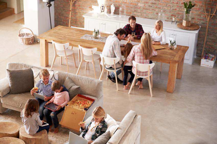 Los hogares formados por parejas son los más numerosos