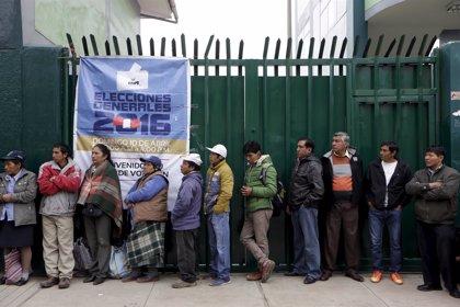 Las imágenes que deja la jornada electoral en Perú