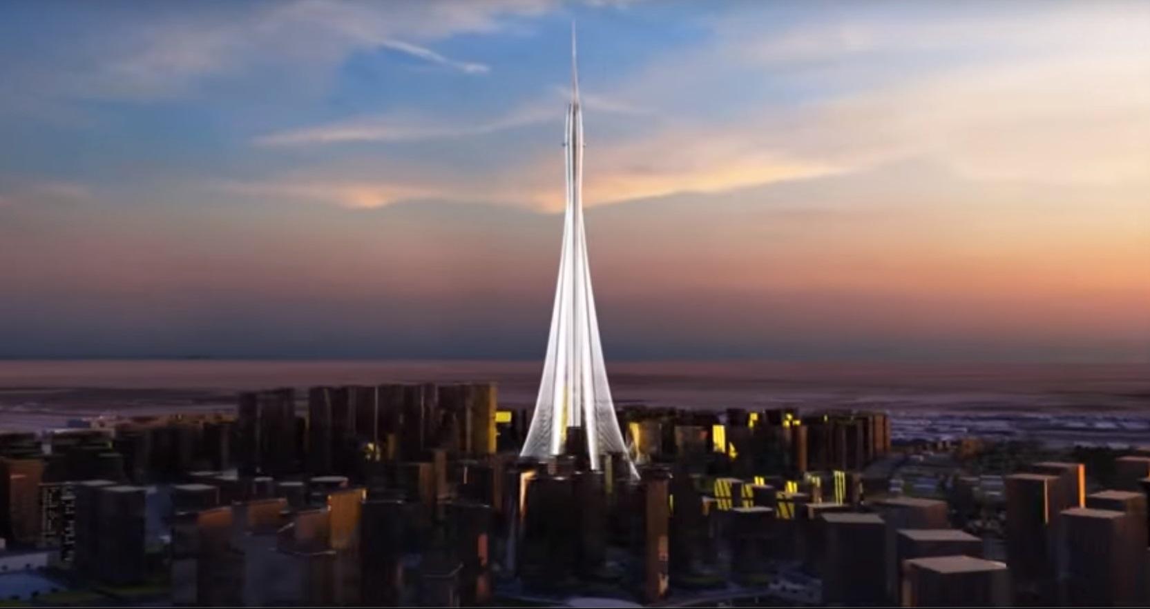 el edificio competir en altura con la jeddah tower de arabia saud el rascacielos que actualmente lucha por ser el ms alto del mundo y que tendr ms de