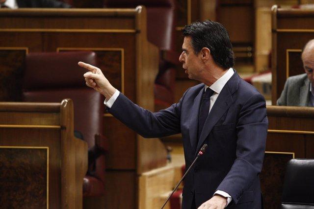 José Manuel Soria en el Congreso