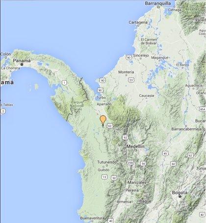 Un terremoto sacude al departamento colombiano de Antioquia