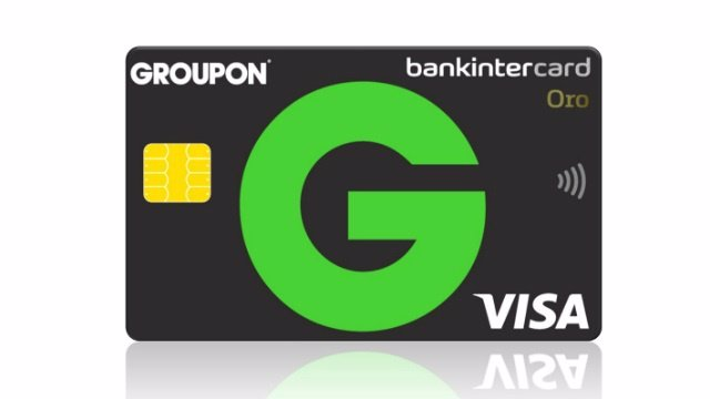 Bankintercard lanza la Visa Oro Groupon