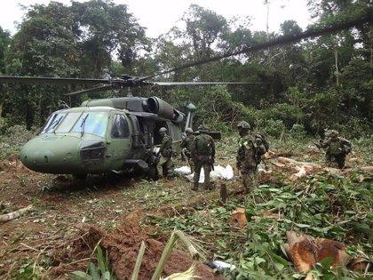 Mueren tres guerrilleros del ELN tras una operación del Ejército colombiano