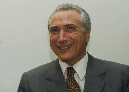Vicepresidente Temer grabó un discurso pidiendo un gobierno de salvación tras el 'impeachment' de Rousseff