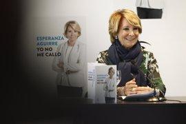 Aguirre cree que PP debería nombrar un equipo negociador para hablar con PSOE y C's