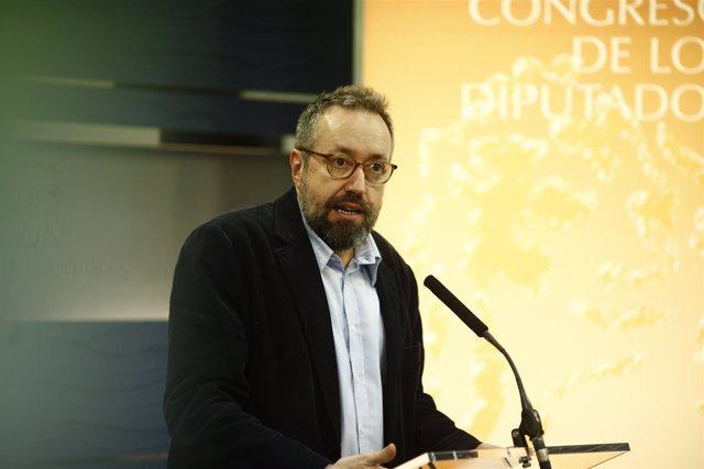 Juan Carlos Girauta en el Congreso