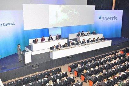 Abertis pagará un dividendo complementario de 0,36 euros el 19 de abril