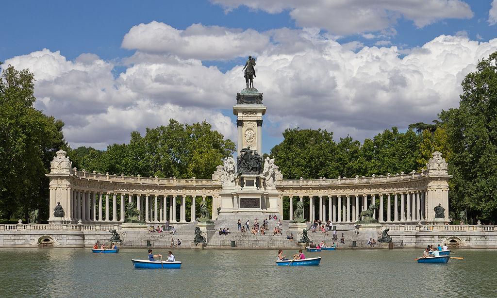 Jardines de El Retiro. Madrid