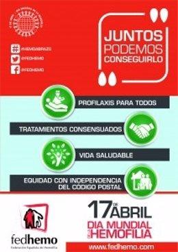 Reivindicaciones por el Día Mundial de la Hemofilia