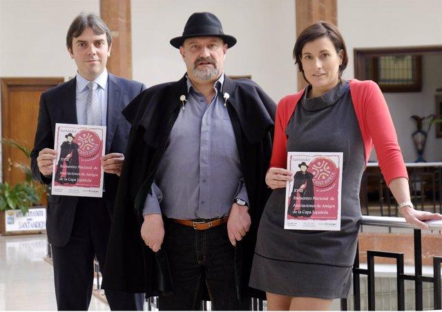 Presentación del XVIII Encuentro Nacional de la capa española en Santander