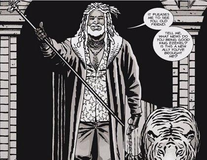 The Walking Dead 'spoilea' la llegada de Ezekiel y Shiva en la 7ª temporada