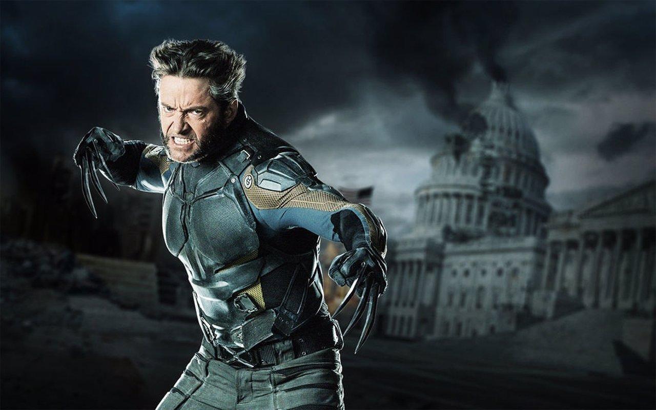Hugh Jackman como Lobezno en X-Men