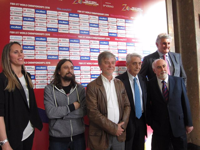 Zaragoza ha acogido esta tarde el sorteo de los mundiales U17 de baloncesto