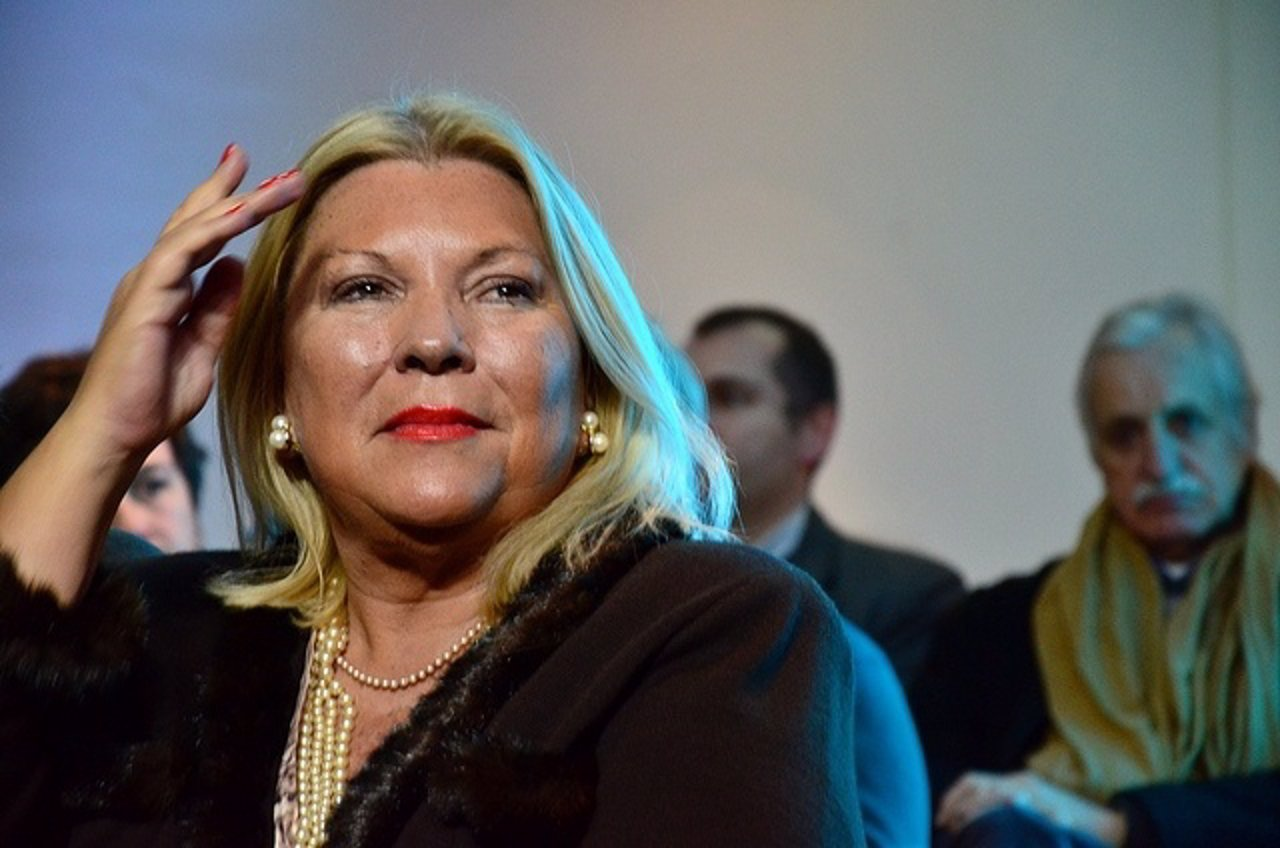 La diputada opositora argentina Elisa Carrió