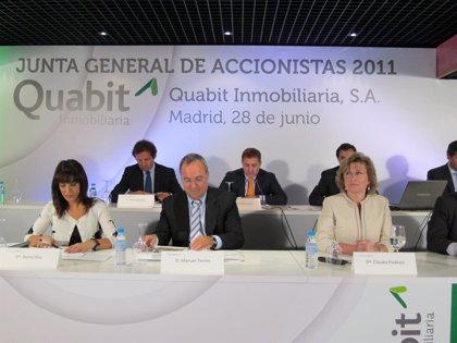 Quabit Inmobiliaria aprueba hoy en junta repartir su primer dividendo