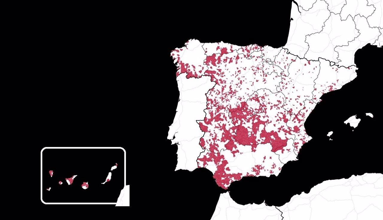 Paro recurrente España