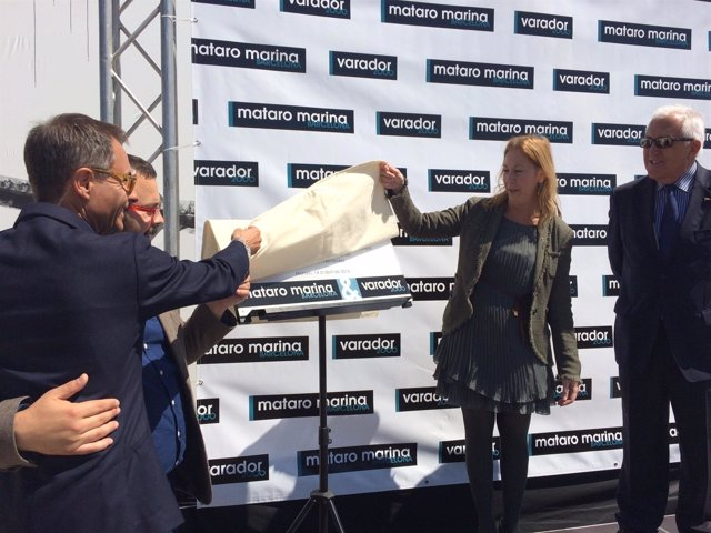 La vicepresidenta, Neus Munté, inaugura la base Mataró Marina Barcelona