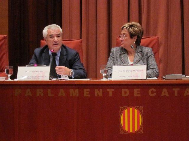 Luis Pineda (Ausbanc) y Dolors Montserrat (PP)