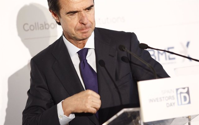 José Manuel Soria en el almuerzo de Spain Investors Day