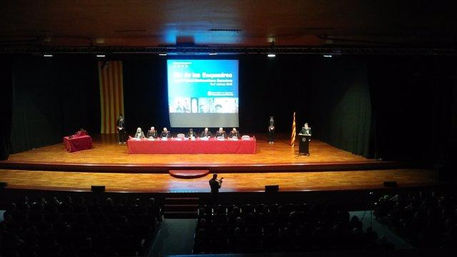 El comisario J.C.Molinero, en el Dia de les Esquadres de Barcelona