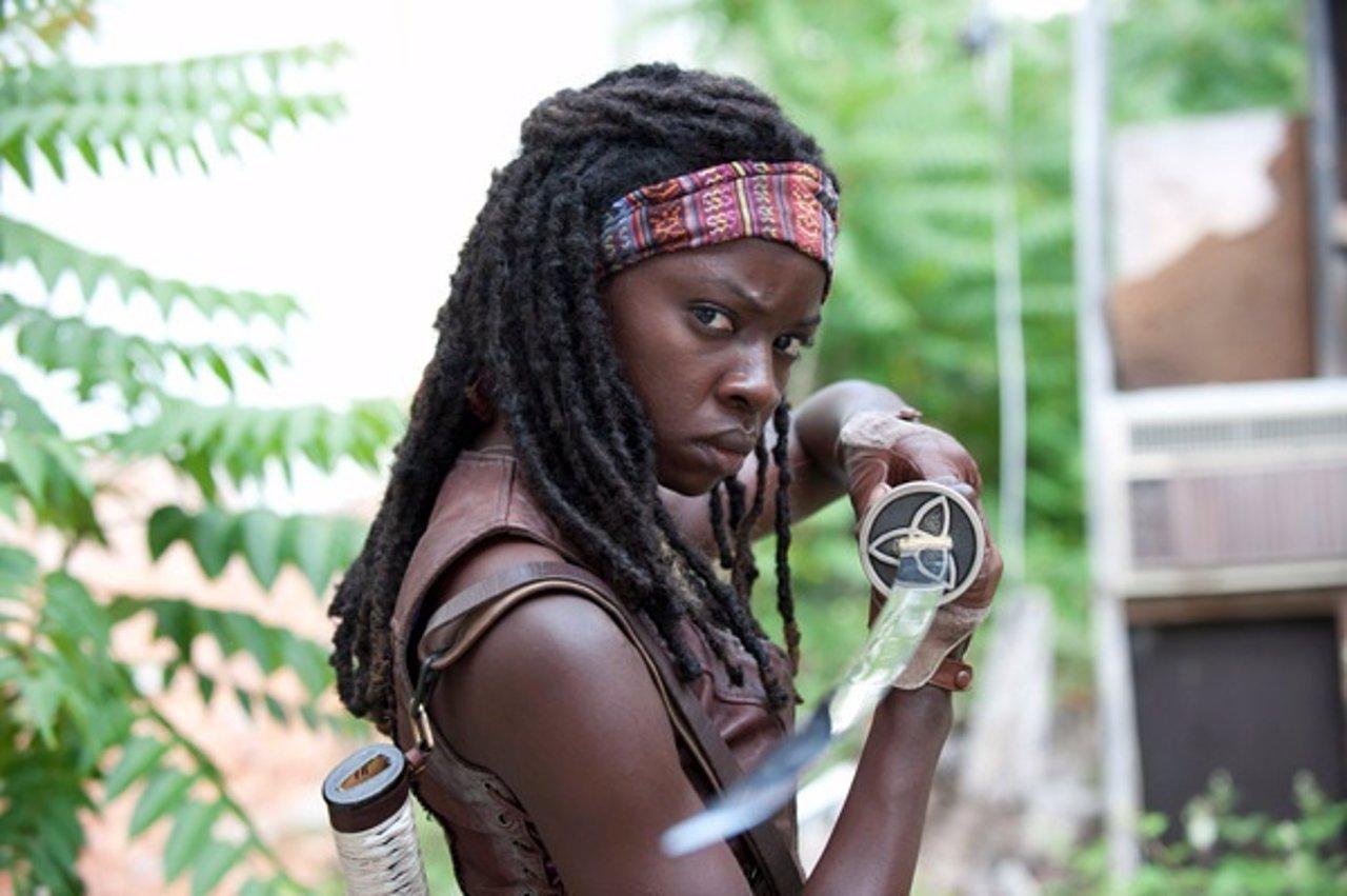Michonne (Danai Gurira) en The Walking Dead