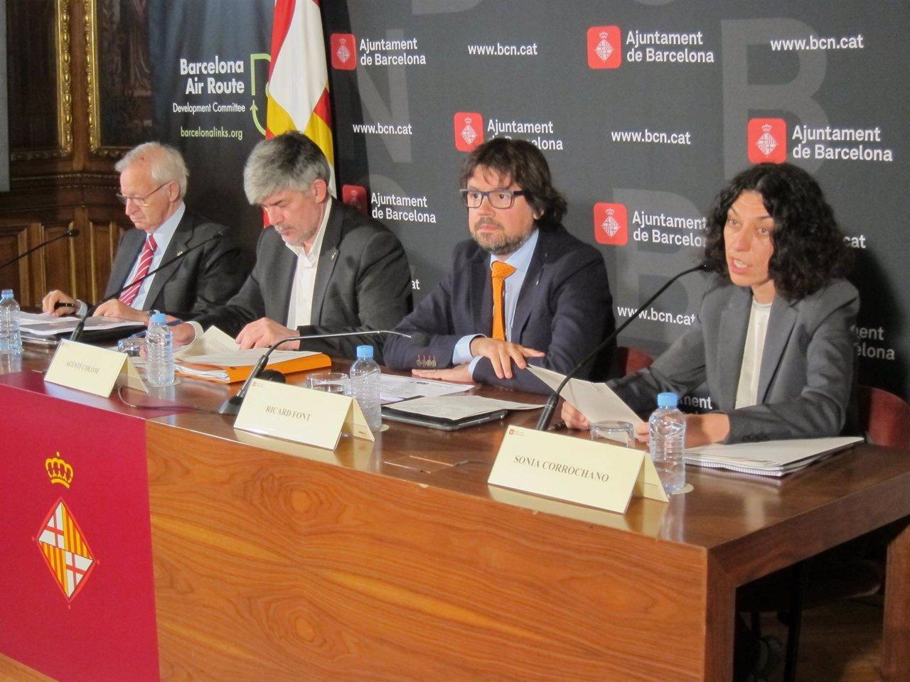 Miquel Valls, Agustí Colom, Ricard Font y Sonia Corrochano (CDRA)