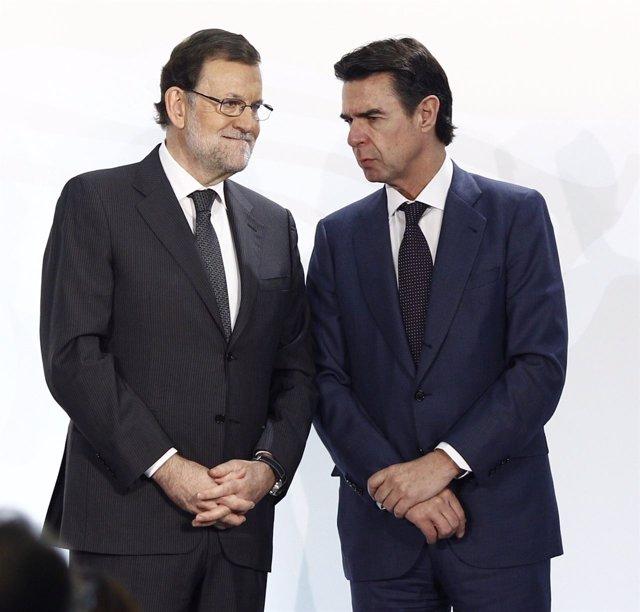 Mariano Rajoy y José Manuel Soria