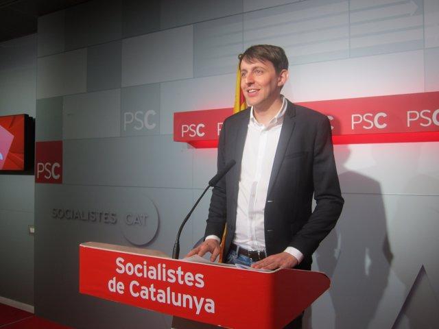 El eurodiputado del PSC Javi López