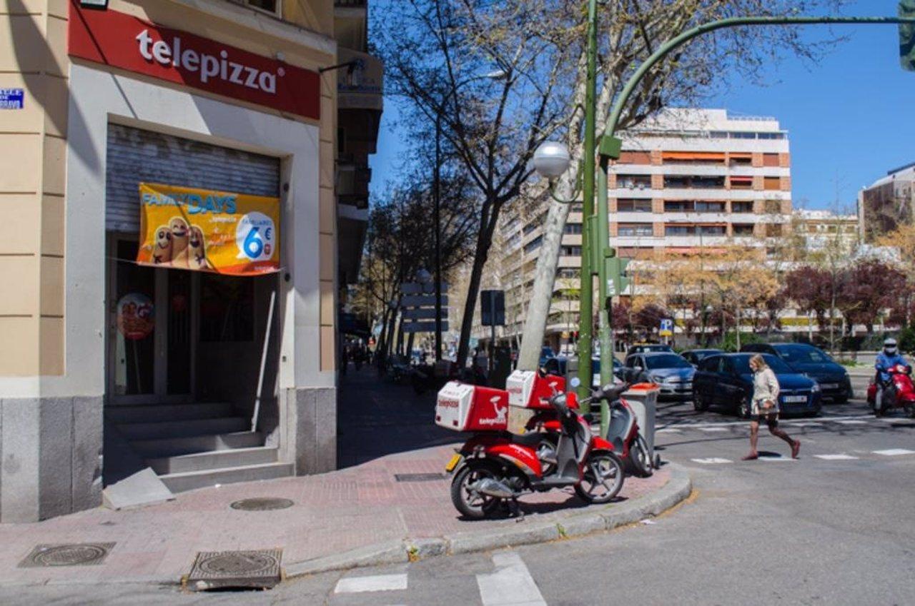 Telepizza, comida rápida, pizzeria, restaurante
