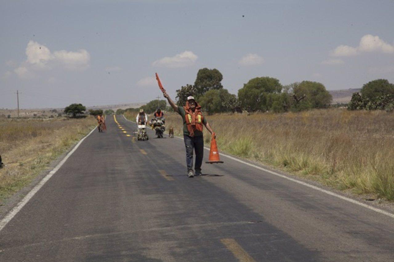 Fotograma de 'La delgada línea amarilla'