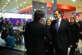 Rajoy recibirá el 20 de abril a Puigdemont en el Palacio de la Moncloa