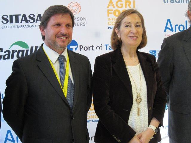Josep Andreu y Ana Pastor