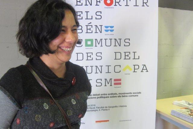 La miembro de la dirección ejecutiva de BComú Susanna Segovia