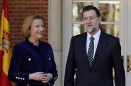 Rajoy participa este sábado en un acto del PP en Zaragoza, un día después de la renuncia de Soria