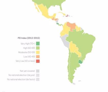 ¿En qué países de Iberoamérica son las elecciones más justas?