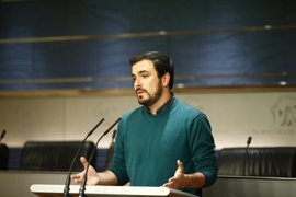 Garzón pregunta al Gobierno si indemnizó a una entidad sionista que excluyó de un concurso