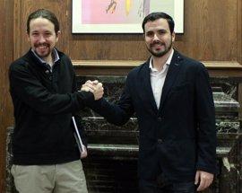 Garzón pide a Podemos que resuelva su debate interno antes de negociar coaliciones