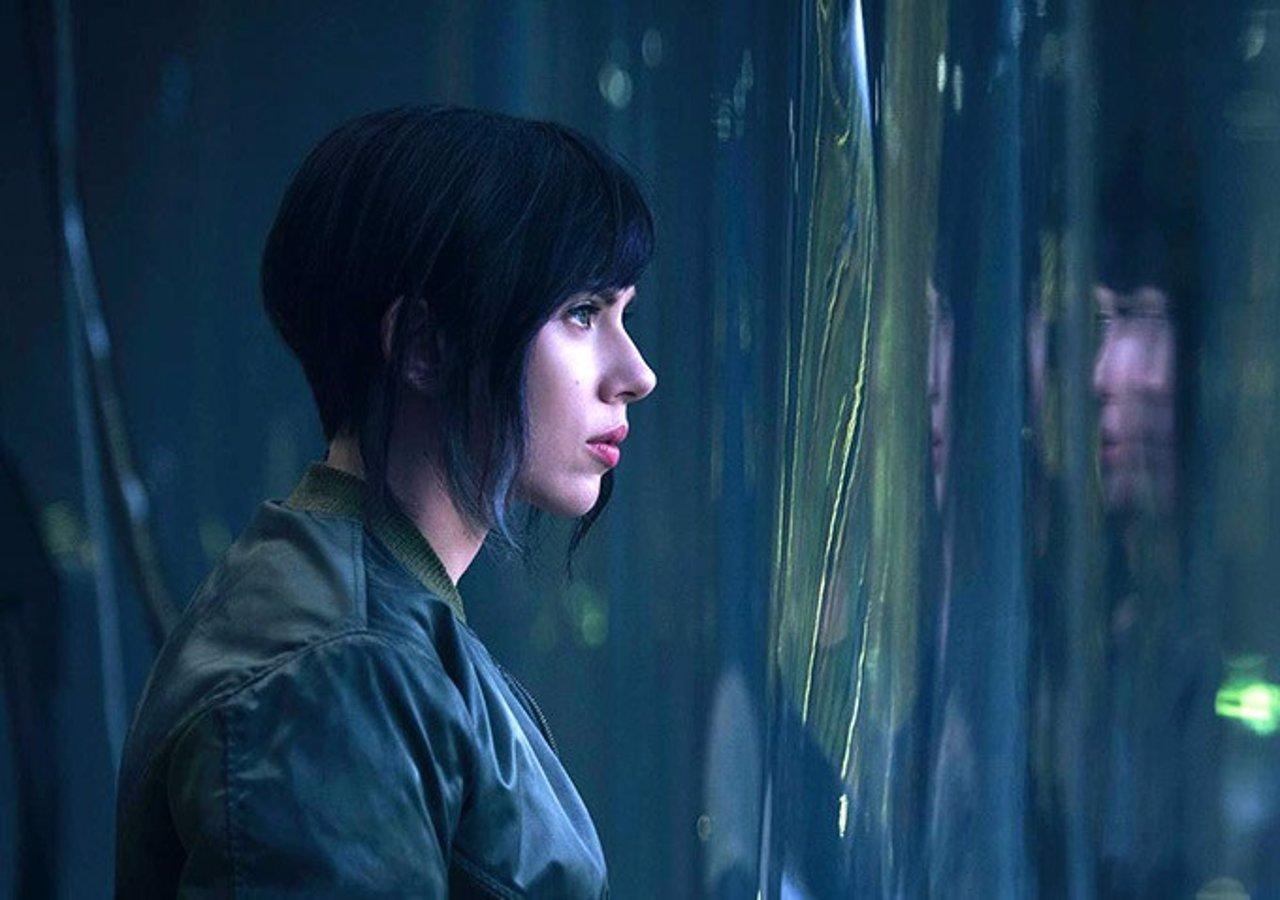 Scarlett Johansson en Ghost in the Shell