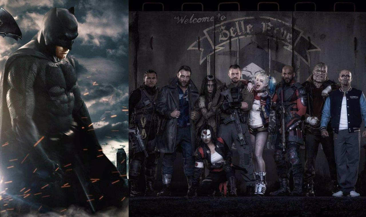 Batman y los miembros de Suicide Squad