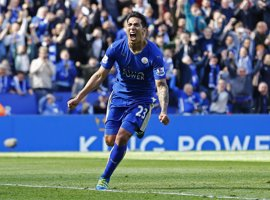 El Leicester empata con diez en un final de locura