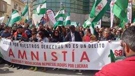 El SAT prepara una marcha a pie hasta Madrid por la libertad de Bódalo