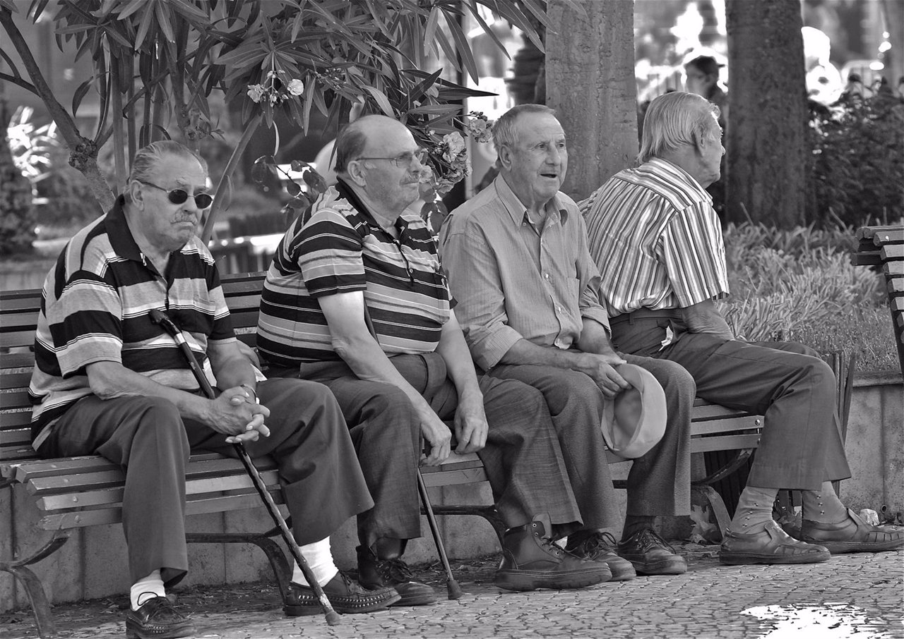Personas mayores.