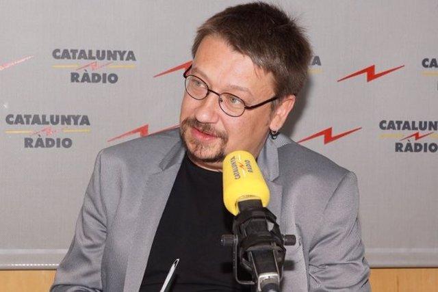 El portavoz y diputado de EnComúPodem, Xavier Domènech