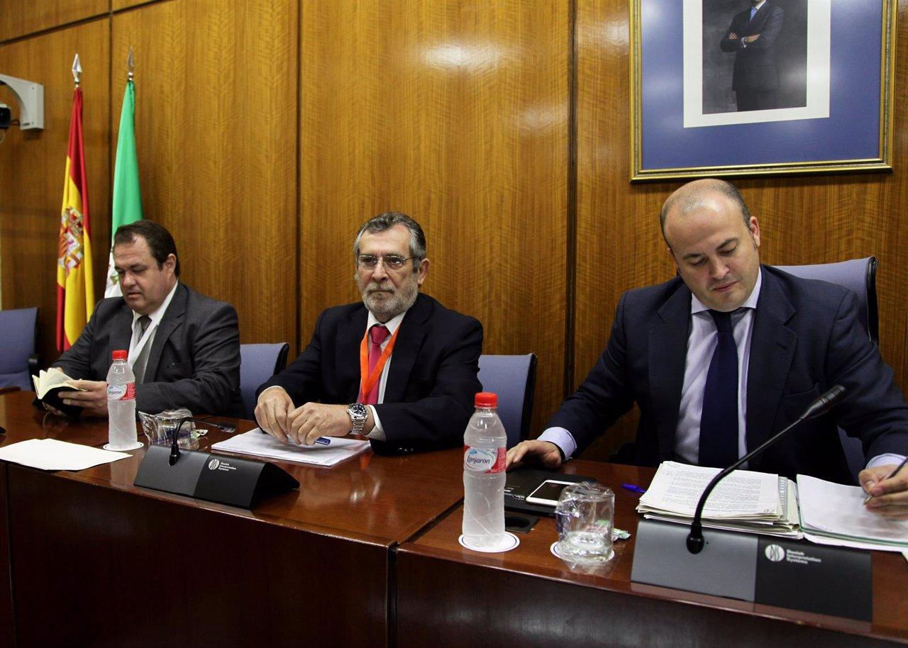 El exdelegado de Empleo Antonio Rivas ante la comisión sobre formación