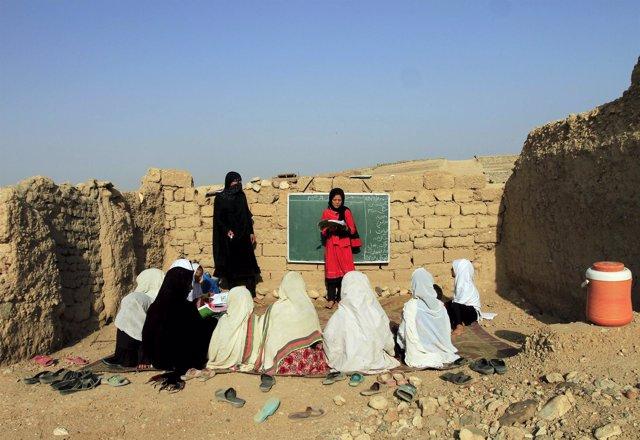 Educación jóvenes afganas