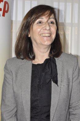 La presidenta de la FAMCP, Carmen Sánchez.