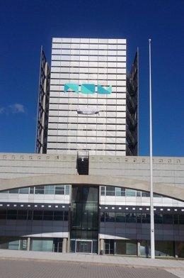 Imagen de las instalaciones de RTVV cerradas