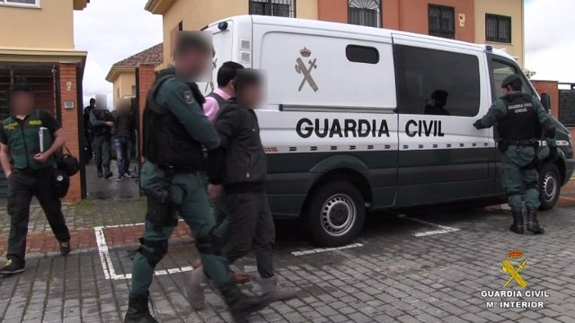 Operación contra la trata de seres humanos en Soria y otras provincias